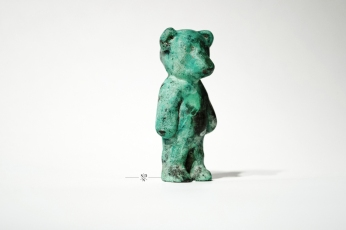 A more menacing bear. Brass