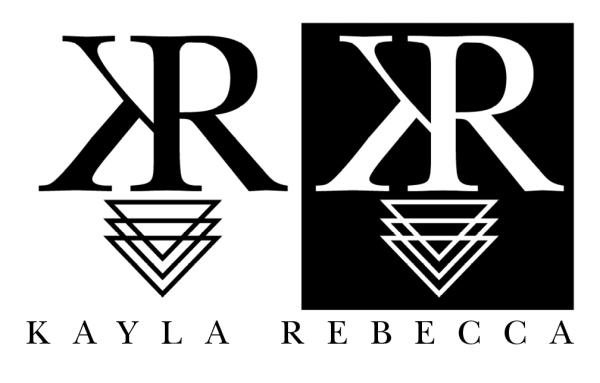 A logo I did for the author Kayla Rebecca