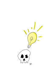 skull-and-lightbulb-in-color