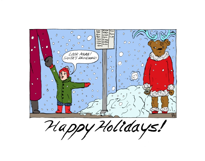 Happy Holidays Comic 2017 Web